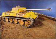 PzKpfw V Panther из роты Сотникова № 518. Звезда 1/35. ГОТОВО DSCN1660