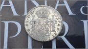 8 Reales 1809 Fernando VII Mexico ( busto imaginario ) 20150429_173224