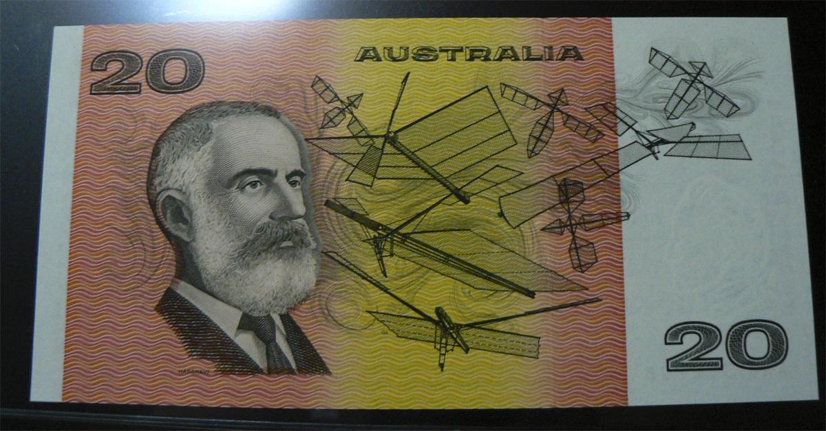 20 Dólares Australia, 1994  Austl46ir