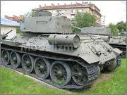 Советский средний танк Т-34-85, производства завода № 112,  Военно-исторический музей, София, Болгария 34_85_051