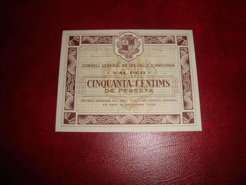 50 Céntimos Andorra, 1936 Andorra_50_ctms