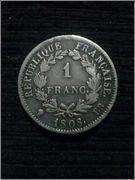 1 franc napoleon 1808 CAM00107