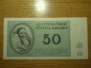 Billetes judios del ghetto del campo de Terezin DSC02522