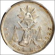 1 Peso 1873Mo, Republica Maxicana Image
