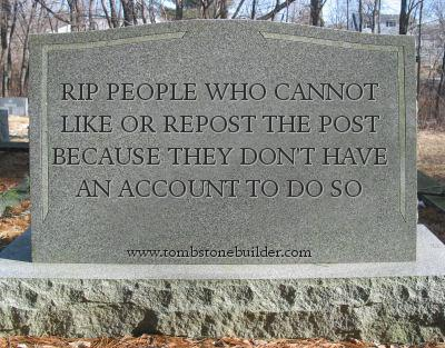 The Memification My_tombstone