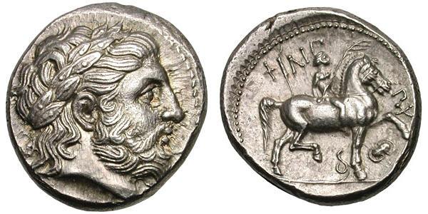 Filipo - Tetradracma. Filipo II (acuñación póstuma). Pella. 323-317 A.C. SC. 724486_parecida_de_la_misma_ceca