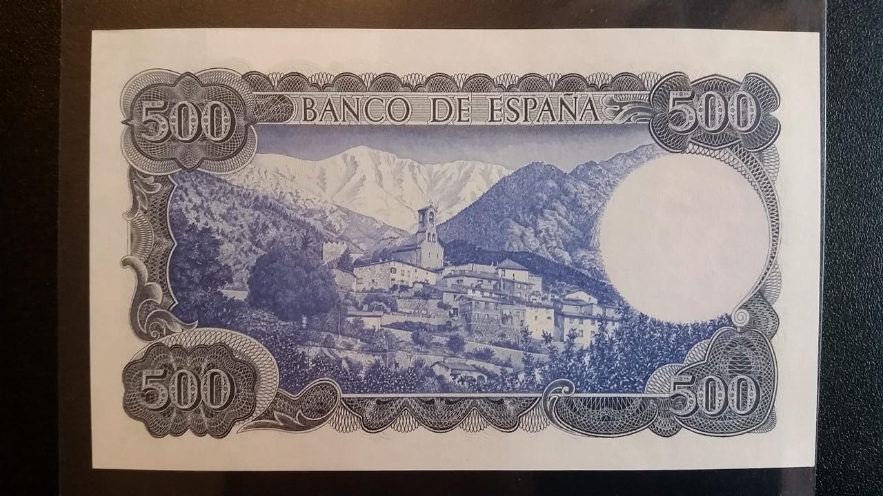 Colección de billetes españoles, sin serie o serie A de Sefcor pendientes de graduar 20161217_121155