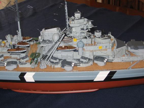 royal - I miei lavori terminati: Corazzata Bismarck, Soleil Royal, Victory. IMG_2375