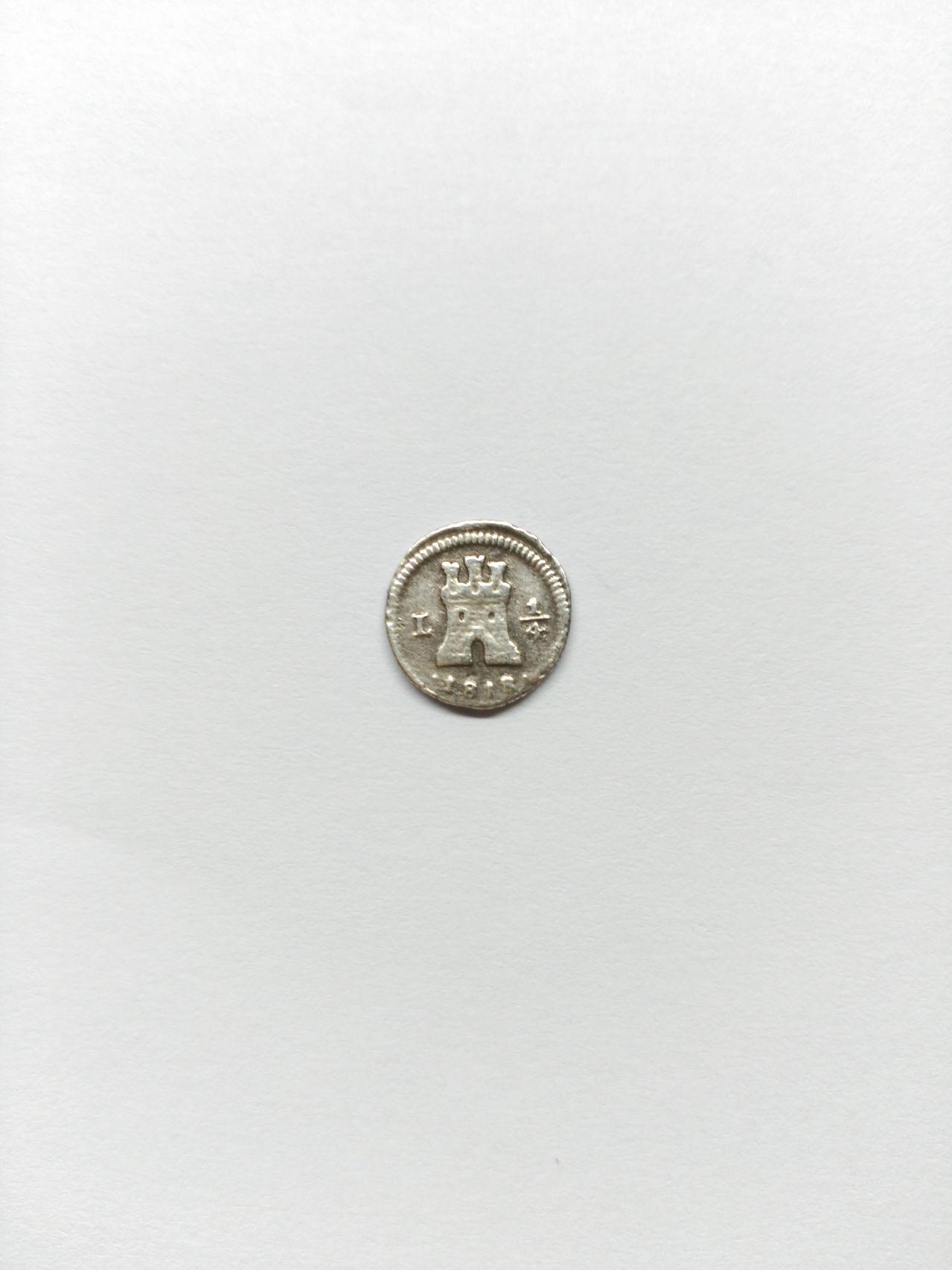 1/4 de real de Fernando VII año 1818 Lima IMG_20160202_182713