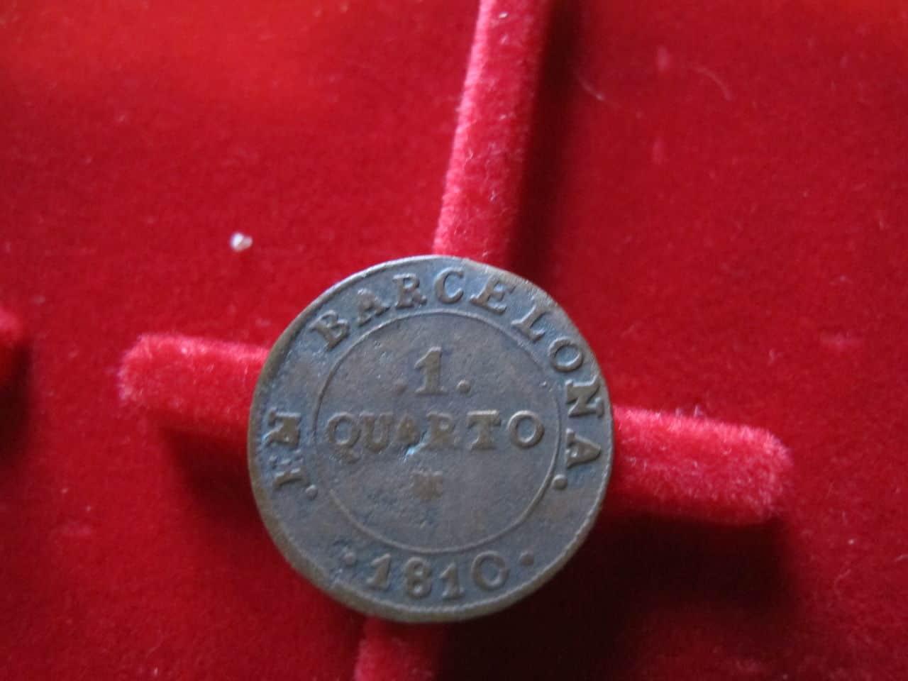 1 Quarto 1810. José Napoleón. Barcelona. IMG_3520