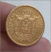 100 REALES 1863 ISABEL II MADRID , DEDICADA A PERROPAXON 2015_03_29_10_27_55