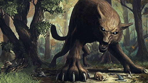 E Rank Monsters Forest_wolf_fantasy_art_creatures_1920x1080_wall