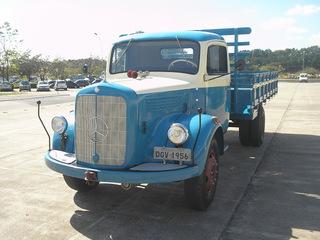 Vintage camion in vendita in Brasile Mercedesbenz1956_C