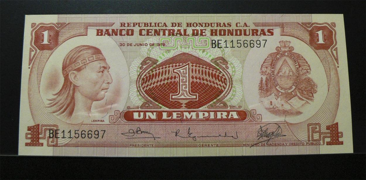 1 Lempira Honduras, 1978 Hnd62