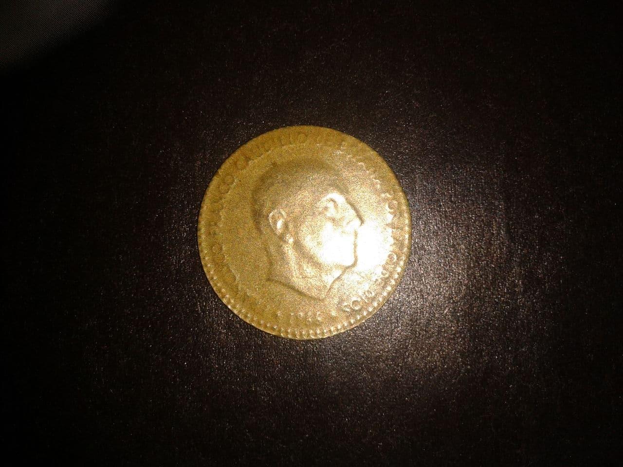 peseta de oro Franco 1966 2014_08_23_14_55_15