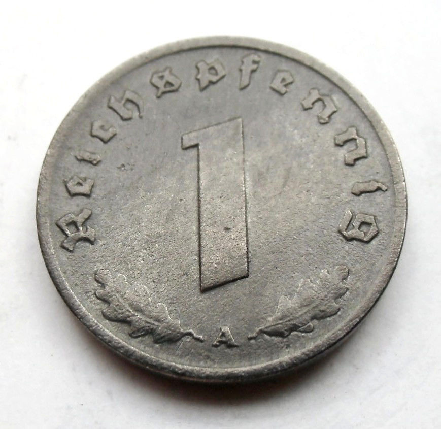 1 Reichspfennig 1945 A. La última del III Reich. 1945b