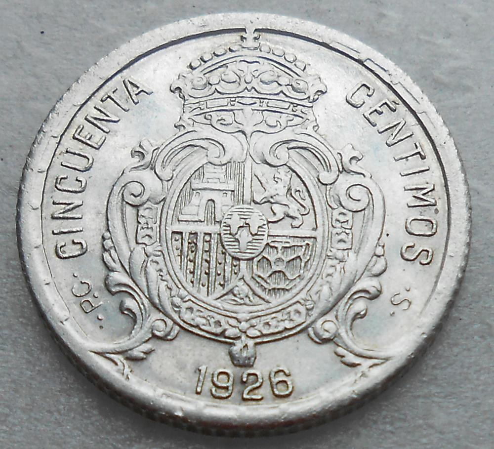 50 Centimos 1926, problemas para darles conservacion 50_cent_1926_rev