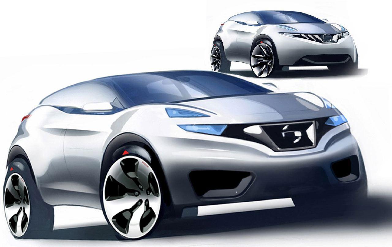 [Présentation] Le design par Nissan / Infiniti Nissan_qashqai_sketch_13