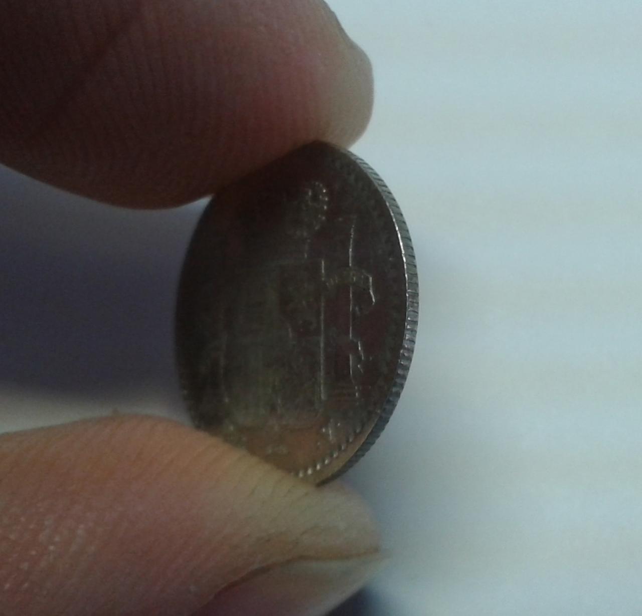 5 Centavos 1896 Puerto Rico - Alfonso XIII 20141025_142659