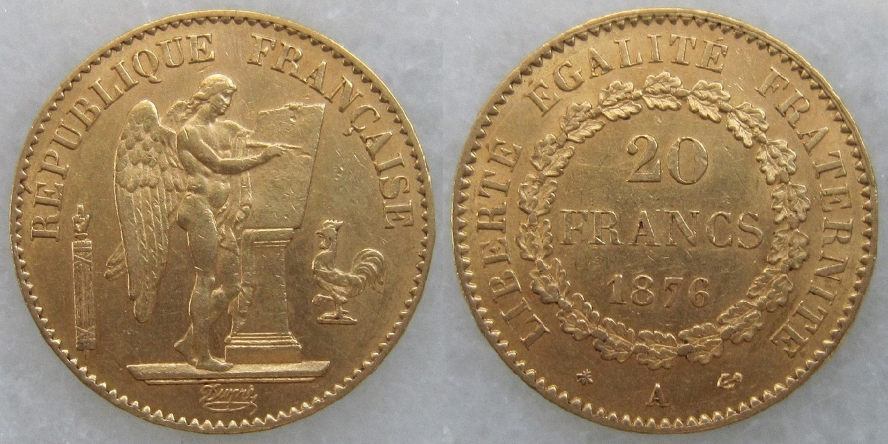 20 francos 1876. Francia 20_francos_1876_Francia
