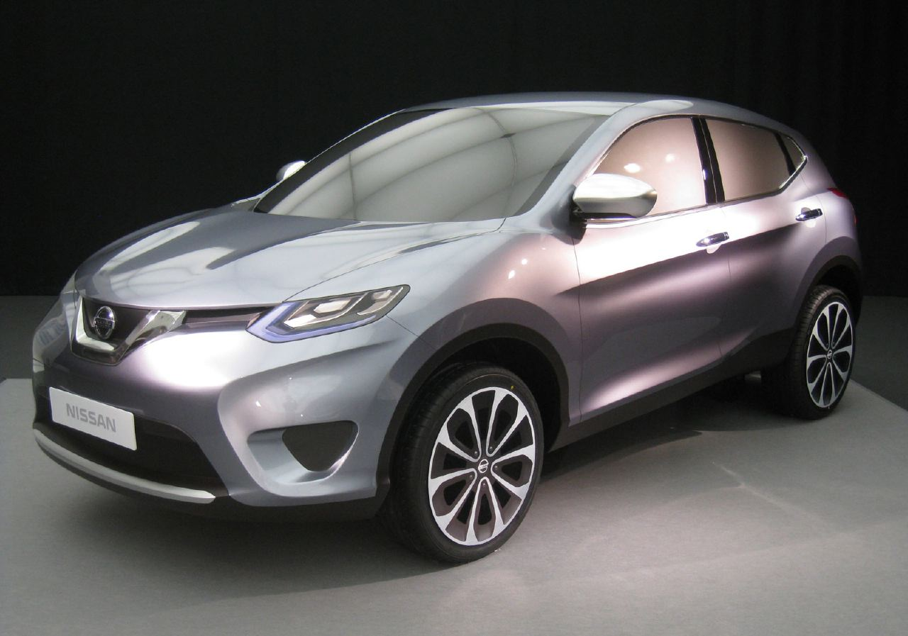 [Présentation] Le design par Nissan / Infiniti Nissan_qashqai_alternative_proposal_01