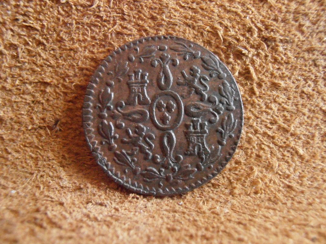 2 Maravedís 1833. Fernando VII. Segovia  P4010007