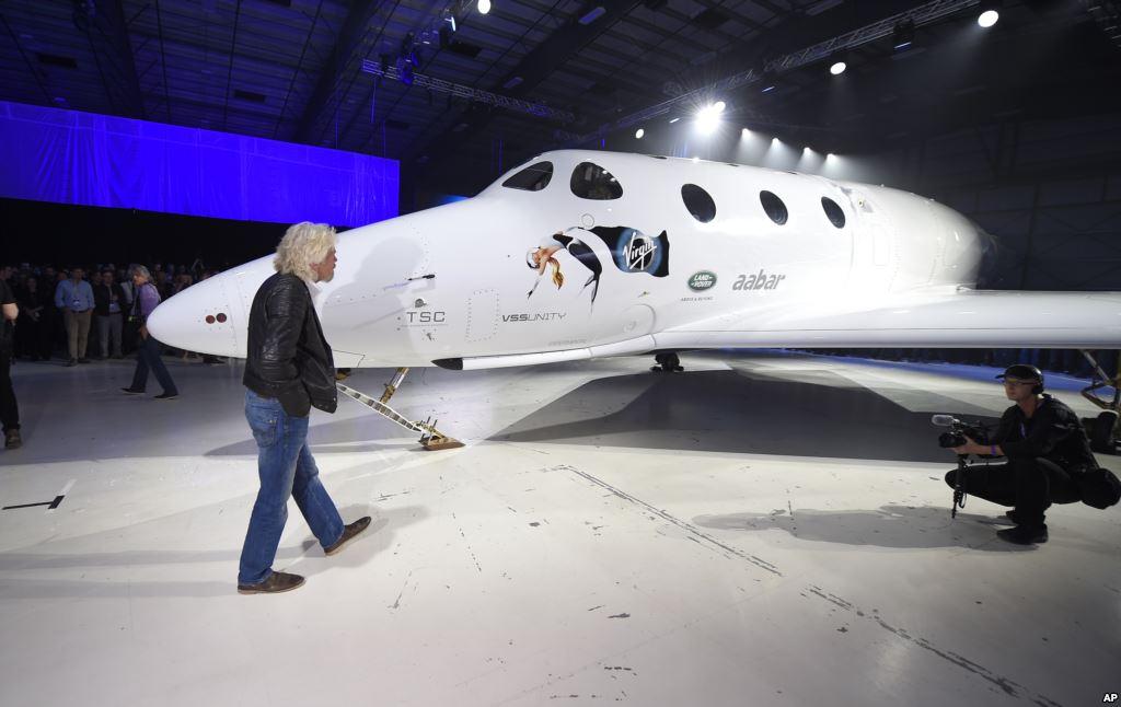 Turismo aereo al espacio sideral - alternativas y ofertas Virginspaceplane