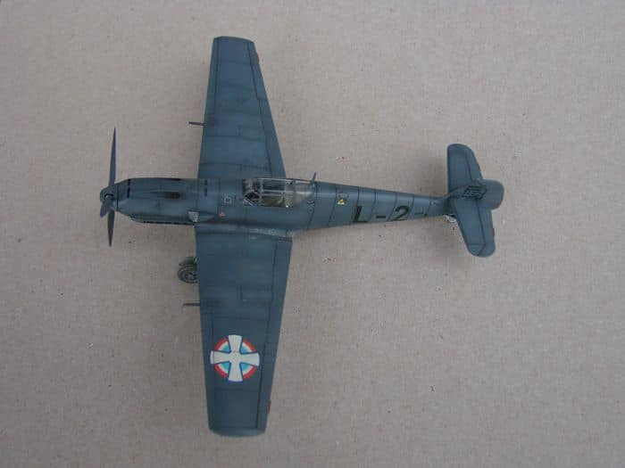 Bf-109E-3VVKJ, Tamiya, 1/72 DSC03062