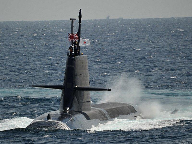 Submarino Clase SORYU(DRAGON AZUL) - Tecnologia avanzada y clasificada (sin compartir sus adelantos) Soryuclass_SS_503