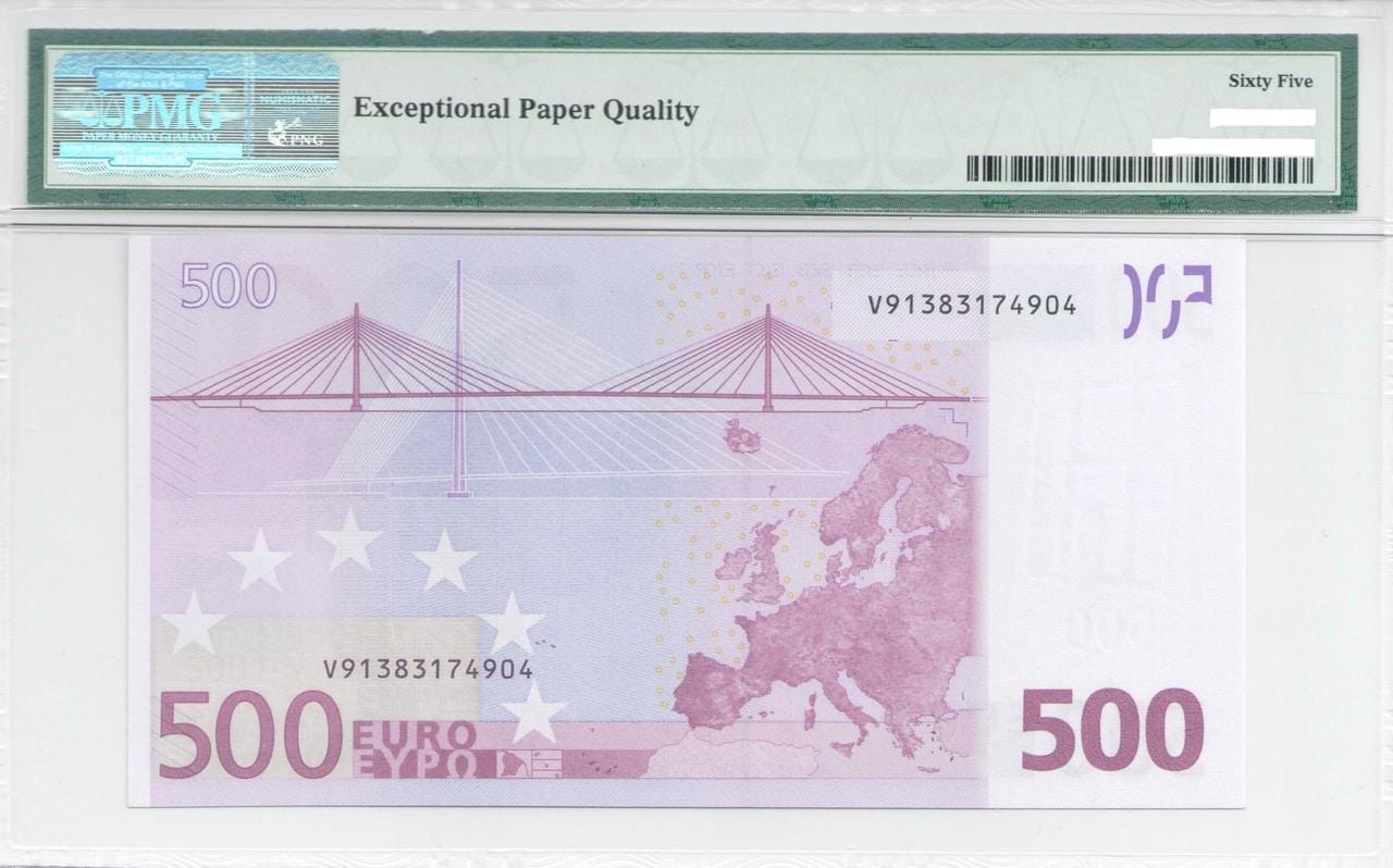 Colección de billetes españoles, sin serie o serie A de Sefcor - Página 3 500_euros_reverso