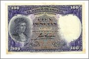 100 pesetas 1931 100pesetas