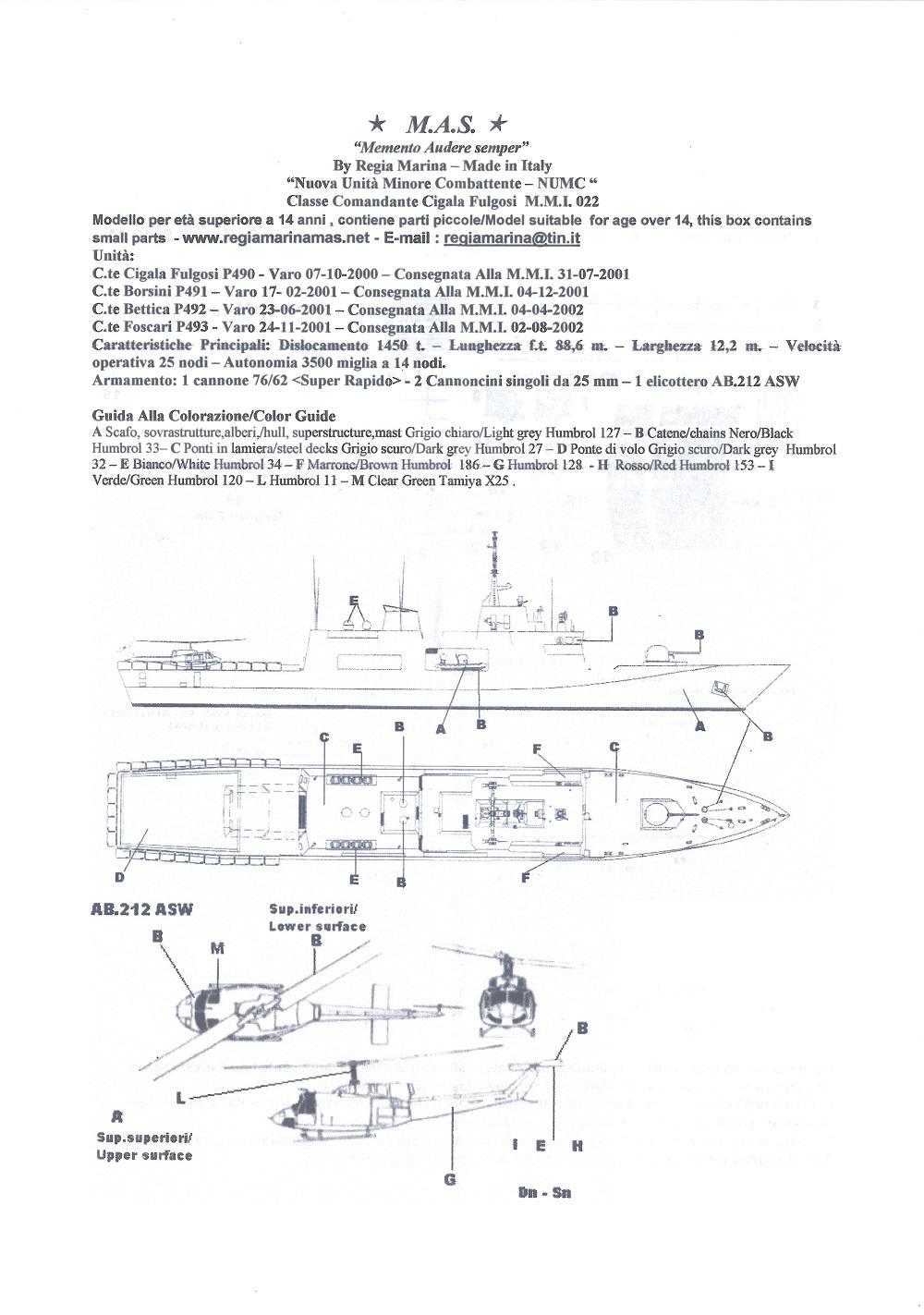 Foscari P493, Patrouilleur de la Classe Cigala Fulgosi 1/700 RM_022_Cigala_Fulgosi_03a