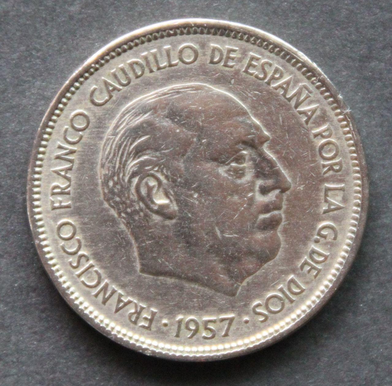 25 pesetas 1957 *61 IMG_1399