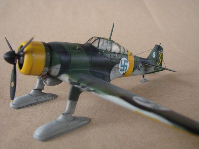 Finski Fokkeri D.XXI, Special Hobby, 1/72 DSC01485