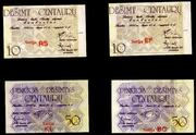 La polémica serie de billetes de atletismo lituana de 1.991 Atletismo_Lituania_002
