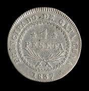 "1 peseta 1837. Isabel II. Barcelona. Para los  ""peseteros"" Isabel_II_2"