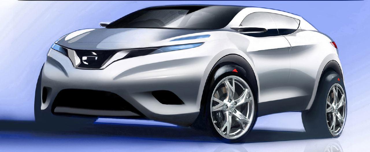 [Présentation] Le design par Nissan / Infiniti Nissan_qashqai_sketch_08