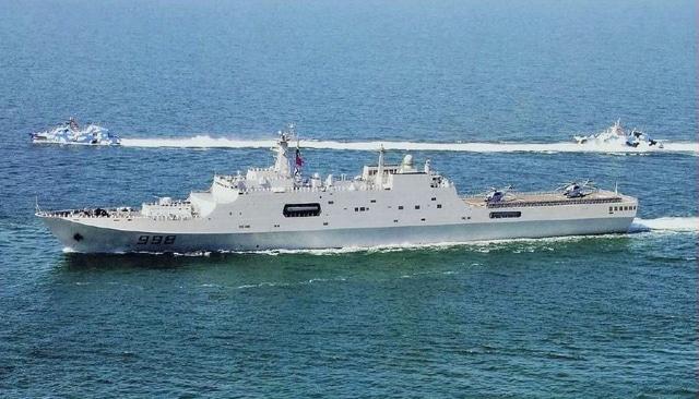Forces armées de l'Empire Pan-Asiatique Yuzhao_Type_071_Class_Amphibious_Ship