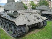 Советский средний танк Т-34-85, производства завода № 112,  Военно-исторический музей, София, Болгария 34_85_050