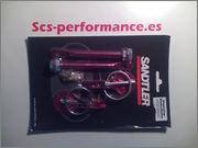 SCS-PERFORMANCE, Recambio clásico & racing Anclaje_capo_rojo