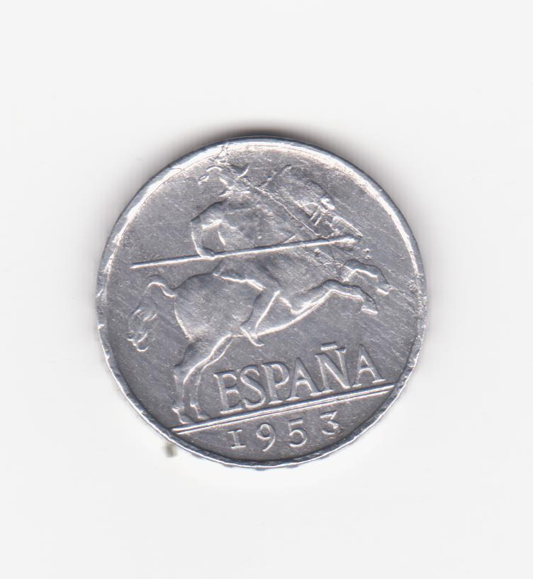 5 céntimos 1953. Estado Español. 5_c_ntimos_1953