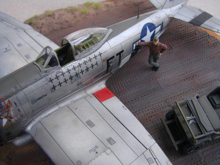 P-47D-30RE Thunderbolt, Revell, 1/72 DSC03175
