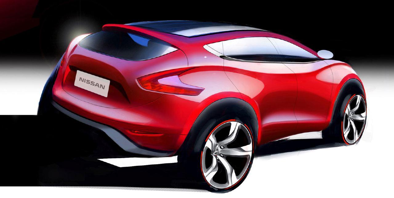 [Présentation] Le design par Nissan / Infiniti Nissan_qashqai_sketch_16
