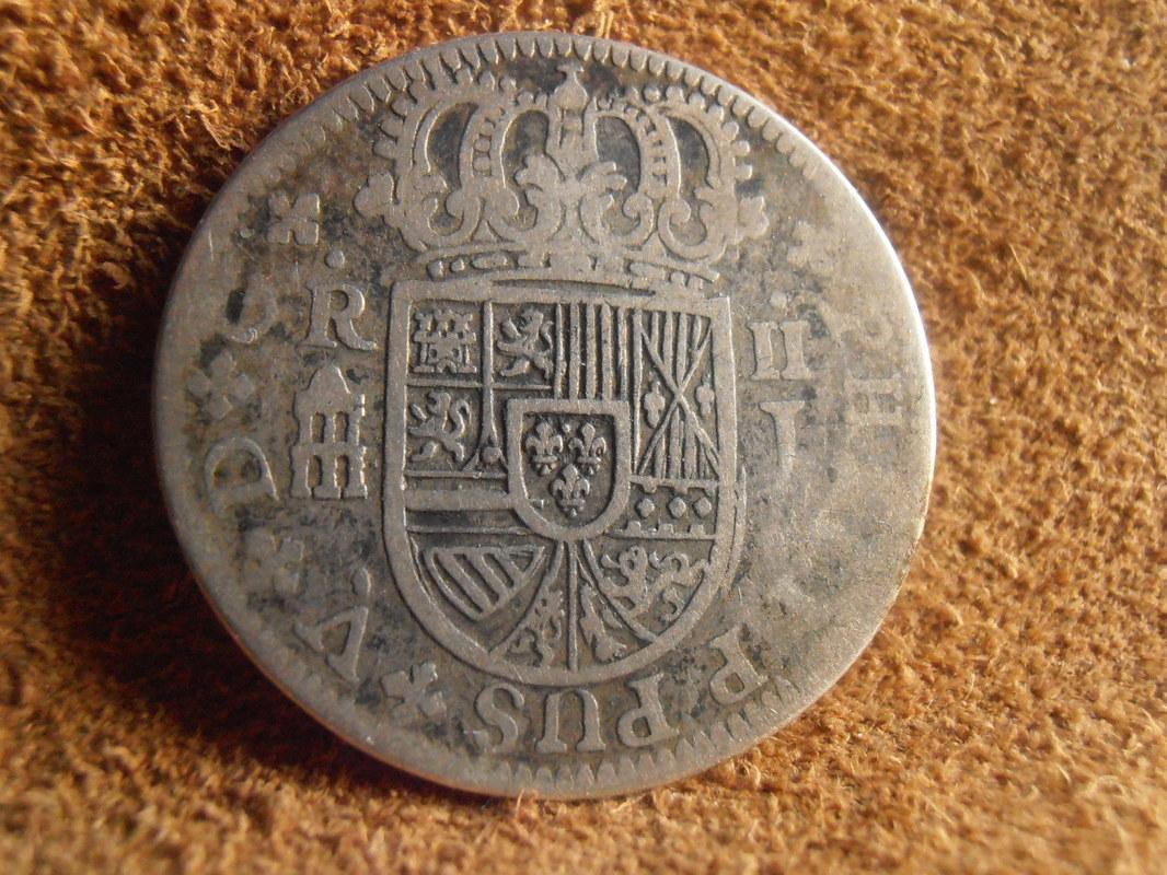 1 Real Felipe V , ceca de Segovia-1726. P3080006