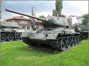 Советский средний танк Т-34-85, производства завода № 112,  Военно-исторический музей, София, Болгария 34_85_058