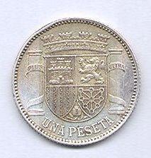 1 PESETA 1933 *3*4.  dedicada a Estrella 76 1_B