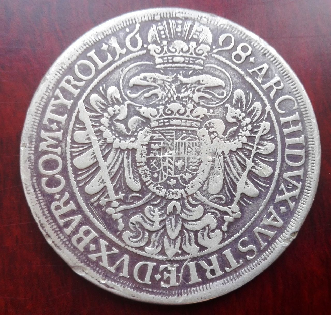 1 Thaler Austria 1698  Thaler_1698_3