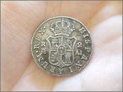 2 reales Carlos IV 1808 Madrid P1120760