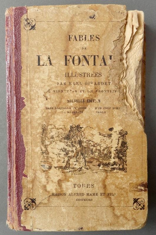 A cigarra e a formiga de La Fontaine - A infancia mítica e a imagem do músico vagabundo DSC07704