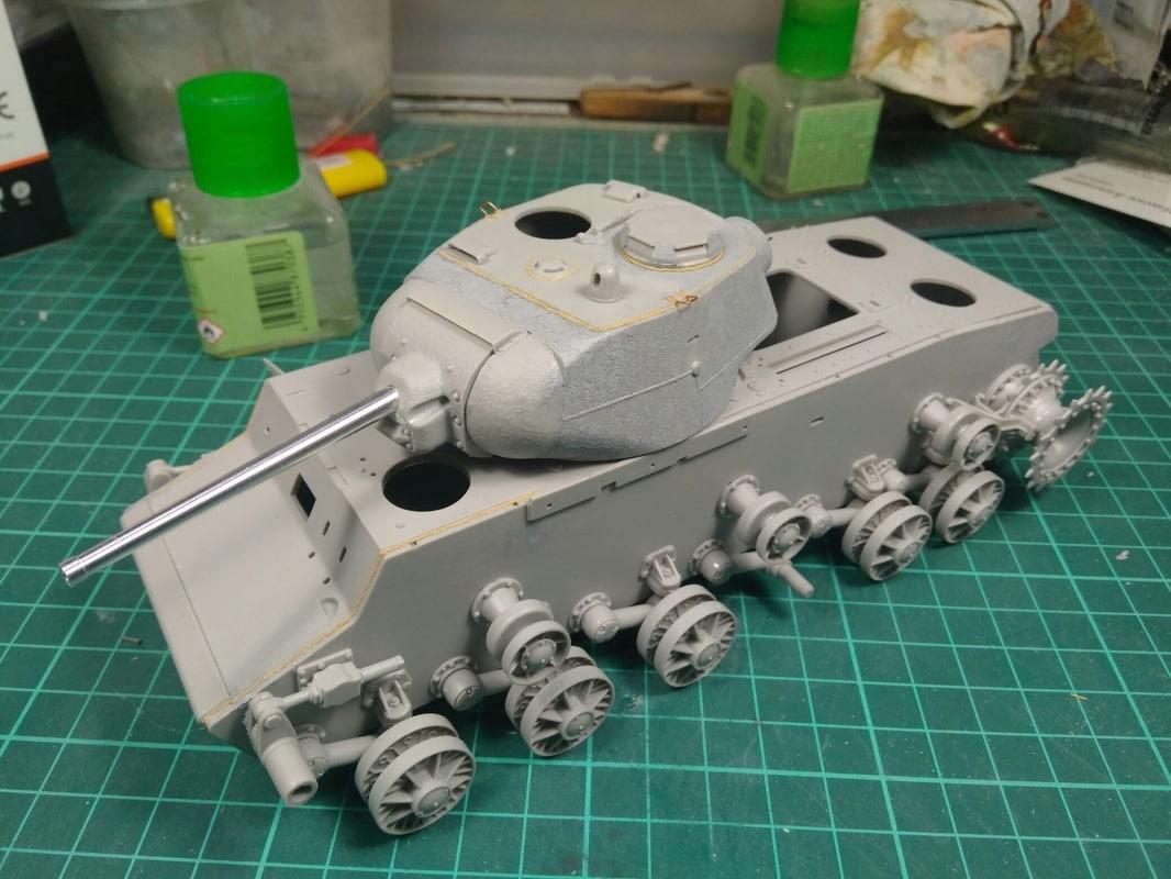 Кв-1С от трумптер с небольшими доработками Image